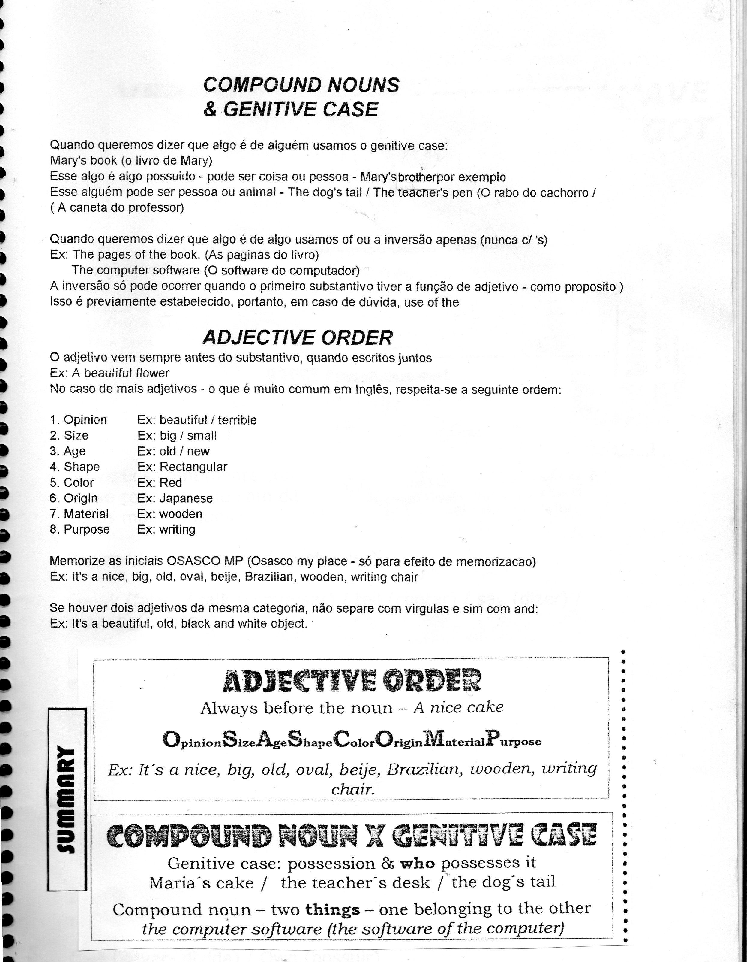 sc 1 st  vivienglishteacher - WordPress.com & 27 compound nouns u0026 genitive case   vivienglishteacher